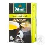 Зеленый чай Дилма натуральный в пакетиках 25х2г Шри-Ланка