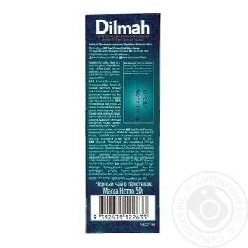 Dilmah black tea 25*2g - buy, prices for Auchan - photo 2