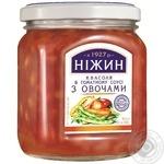 Квасоля з овочами в томатному соусі Ніжин 450г