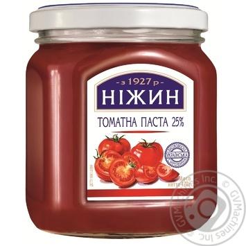Паста томатная Нежин 25% 470г - купить, цены на Novus - фото 1