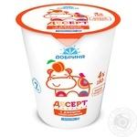 Творожный десерт Добрыня c персиковым джемом 4% 180г пластиковый стакан Украина