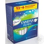 Tampons Discreet Tampax Pearl super 18pcs