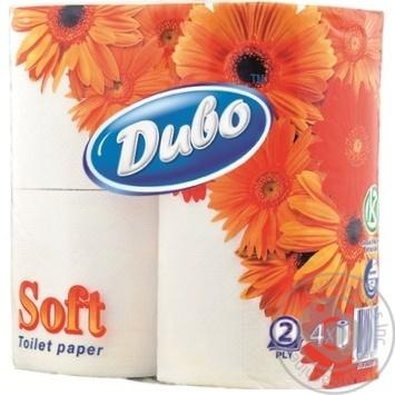 Туалетная бумага Чудо белая двухслойная 4шт - купить, цены на МегаМаркет - фото 1