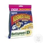 Dry breakfast Kosmostars honey 450g soft packing Russia