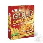 Хлопья Nestle Corn Flakes кукурузные 250г Россия