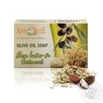 Мило з оливкової олії з овсянкою та Ши Афродіта z-75 100г