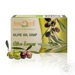 Мило з оливкової олії оливковим листям Афродіта z-73 100г
