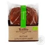 Хлеб Хлибио цельнозерновой ржаной органический 300г Украина