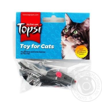 Игрушка для животных Topsi для котов мышь - купить, цены на Метро - фото 1
