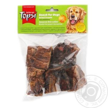 Легені яловичі сушені Topsi 60г - купити, ціни на Ашан - фото 1