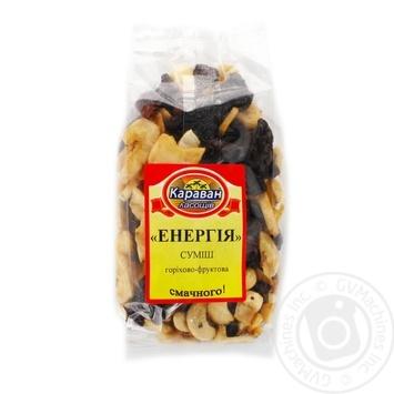 Суміш горіхово-фруктова Караван ласощів Енергія 180г - купити, ціни на Ашан - фото 1
