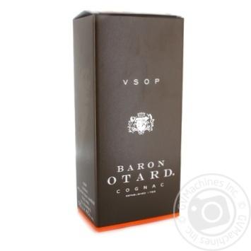 Коньяк Барон Отард VSOP 40% в коробке 500мл - купить, цены на Novus - фото 1