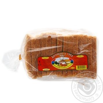 Хліб Т.А.К. Делікатесний для тостів з висівками 300г