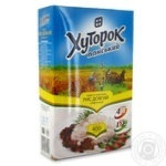 Рис Хуторок Панский длиннозерный шлифованный в пакетиках 400г Украина