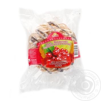 Кекс УкрЭко Хлеб Вишненвий с пророщенных зерен пшеницы 200г