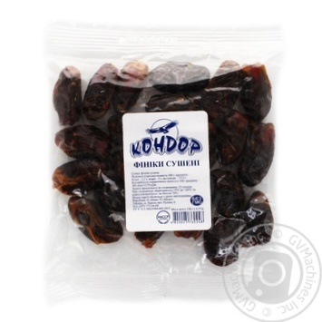 Condor Dried Fruits Dates - buy, prices for Auchan - photo 1