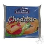 Processed cheese Lactima Cheddar sliced 36.2% 8x16.25g