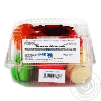 Shortcake Macaron pasta 120g - buy, prices for Auchan - photo 1