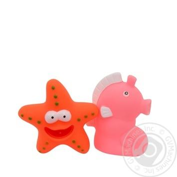 Набор игрушек для ванны Baby Team Забавное купание - купить, цены на Фуршет - фото 3