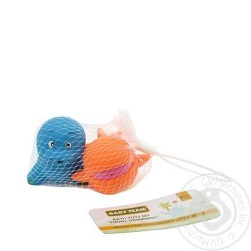 Набор игрушек для ванны Baby Team Забавное купание - купить, цены на Фуршет - фото 1