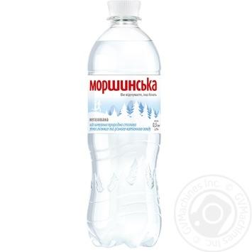 Минеральная вода Моршинская природная негазированная 0,5л
