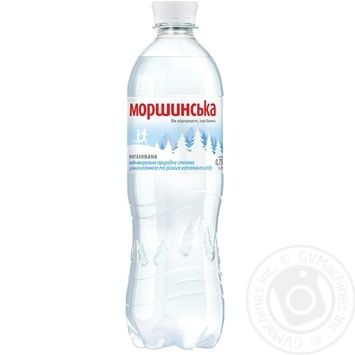 Минеральная вода Моршинская природная негазированная 0,75л