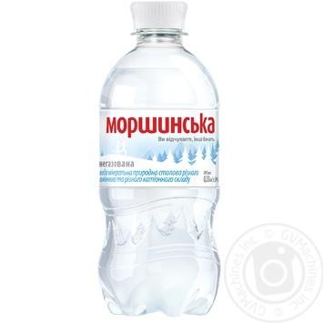 Вода мінеральна Моршинська негазована ПЕТ 0,33л