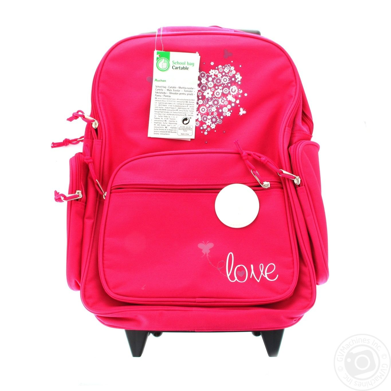 Ашан рюкзаки для школы delsey рюкзаки школьные купить