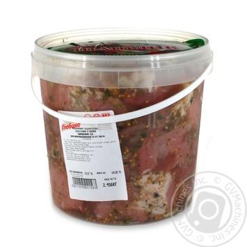 Шашлык Глобино из свинины охлажденный
