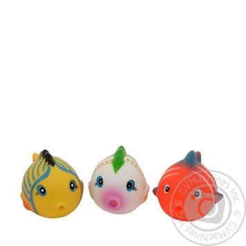 Набор игрушек для ванны Baby Team Цветные рыбки - купить, цены на Novus - фото 4