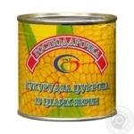 Овощи кукуруза Хозяюшка консервированная 425г железная банка