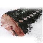Рыба осетр свежая