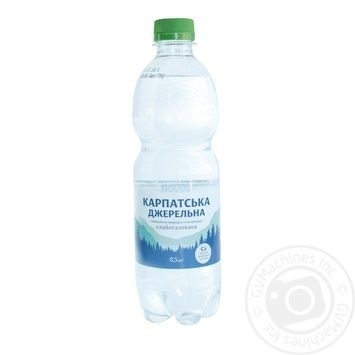 Novus Karpats'ka Dzherel'na Slightly Carbonated Mineral Water 0,5l - buy, prices for Novus - photo 1