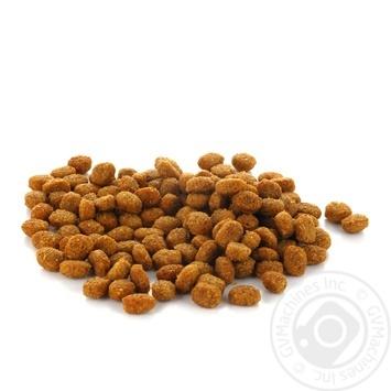 Корм сухой Мяу! для взрослых котов Нежный кролик весовой - купить, цены на Ашан - фото 1