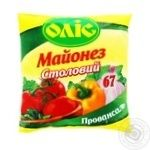 Майонез Оліс Столовий 67% філпак 390г