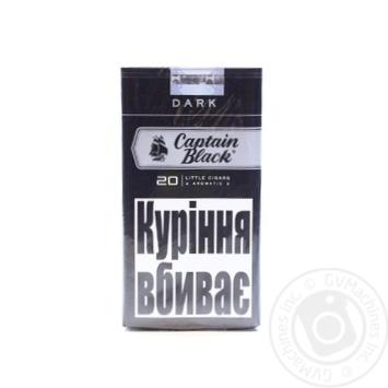 Сигареты Captain Black Dark LC 20шт