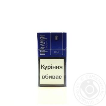 Цигарки з фільтром Прилуки Преміум Demi