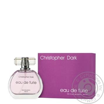 Christopher Dark Eau de Furie Women's Eau de Parfum 100ml - buy, prices for Auchan - photo 1