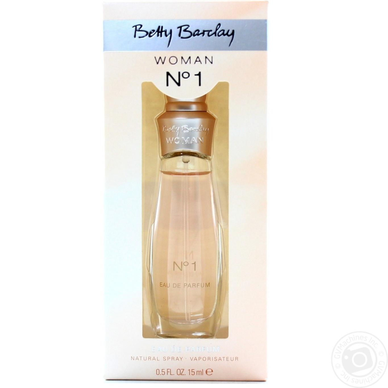 Eau de parfum Betty barclay №1 for women 15ml → Hygiene ... 0ac0e6ebd0234