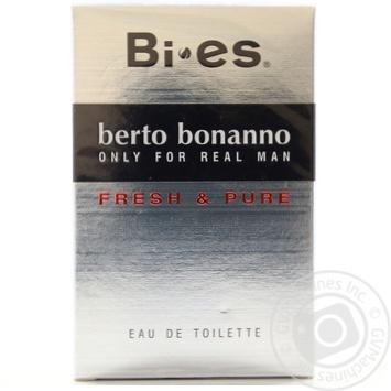 Туалетна вода Берто Бонанно (чол) 100мл - купить, цены на Novus - фото 2