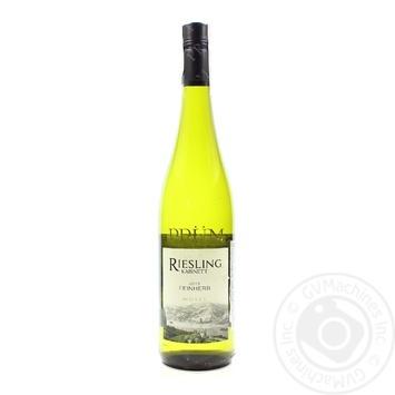 Вино Prum Riesling Kabinett Feinherb Mosel QmP 9,5% 0,75л