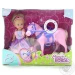 Набір ляльковий Еві Принцеса та казковий кінь зі звук. та світл. ефектами Simba 5731159