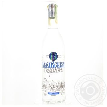 Lvivska Noble Vodka 40% 0,7l - buy, prices for Novus - image 1
