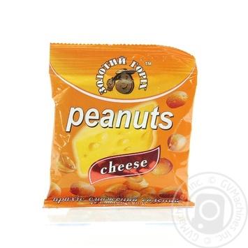 Арахис Золотой орех жареный соленый со вкусом сыра 35г