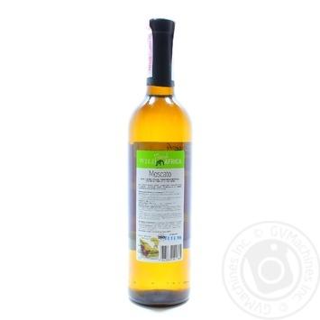 Вино Wild Touch Africa Moscato белое полусладкое 0.75л - купить, цены на Фуршет - фото 2