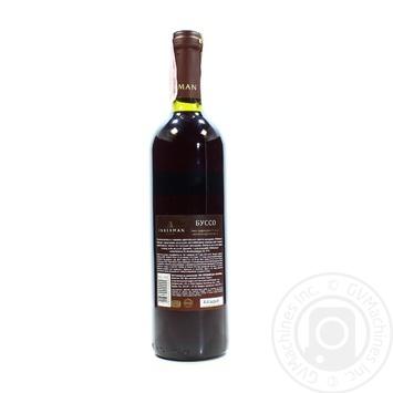 Вино Inkerman Буссо красное полусладкое 0,7л - купить, цены на Novus - фото 2