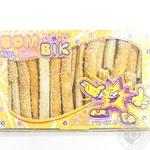 Печиво листкове Класна паличка солона з кунжутом Бом-Бік 300г