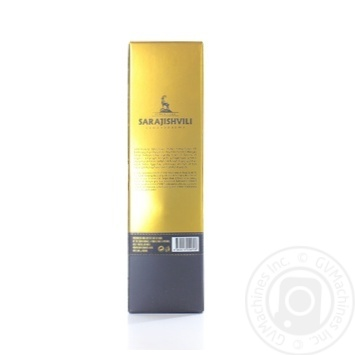 Sarajishvili V.S. cognac 40% 0,35l - buy, prices for Novus - image 2