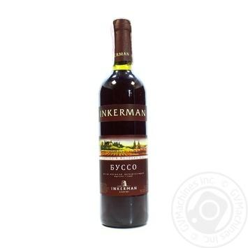 Wine Inkerman Busso red semisweet 12% 700ml glass bottle - buy, prices for Novus - image 3
