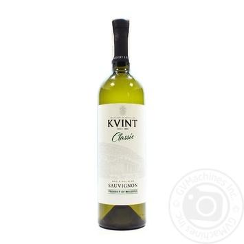 Kvint Classic Sauvignon White Dry Wine 11-14% 0,75l